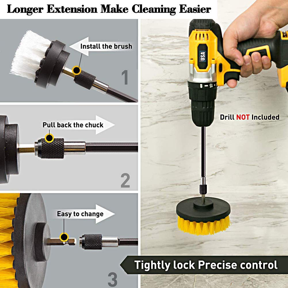 drill,brush,with,extension,long,metal,tight,area,difficult,corner,interior,detailing,exterior,seat,carpet