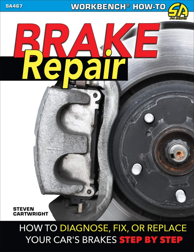 car,vehicle,brake,disc,pads,repair,fix,maintenance,replace,change,worn,out,book